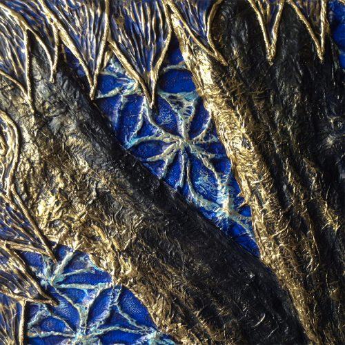 Détails arbre, Blue tree of Life, 2019